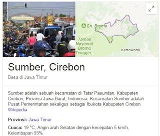 Kabupaten Cirebon - Nama-nama Kecamatan dan Desa di Kabupaten Cirebon Jawa Barat