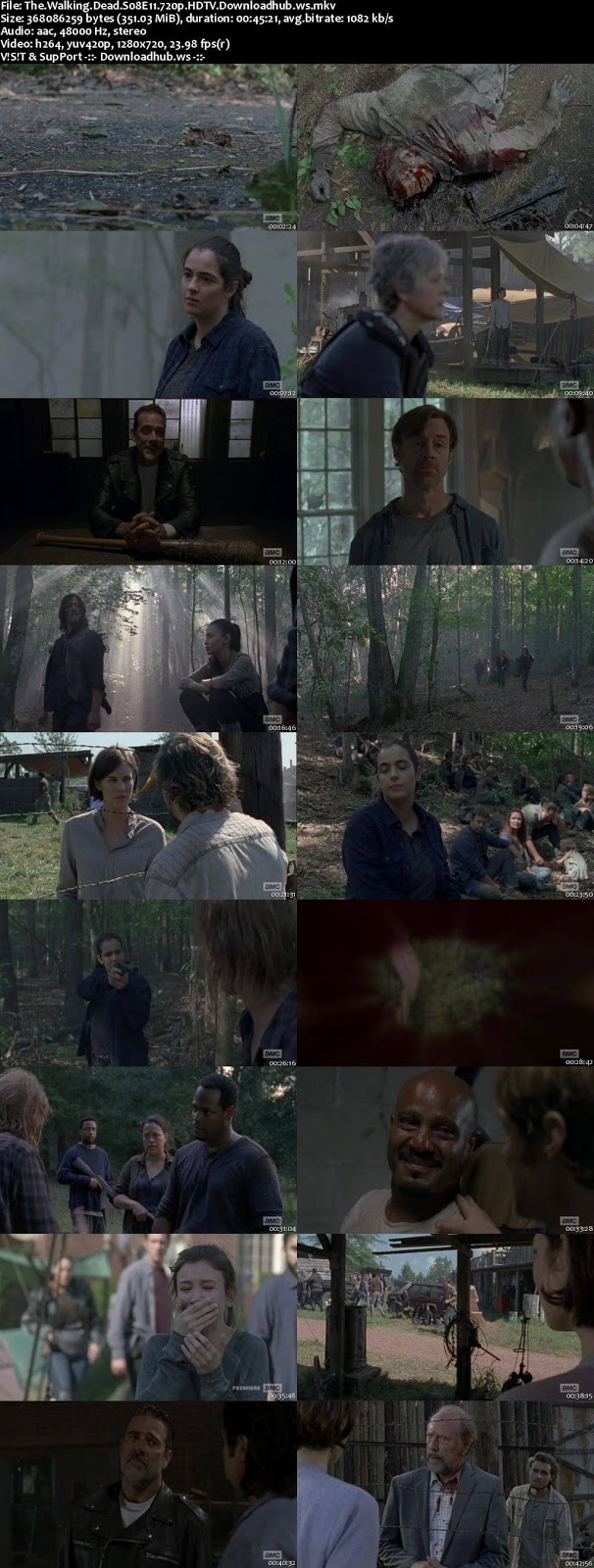The Walking Dead S08E11 350MB HDTV 720p x264