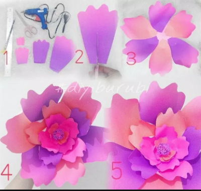 11 Tutorial Membuat Hiasan Dinding Dari Kertas Mudah Sederhana Dan Tidak Menguras Kantong 3
