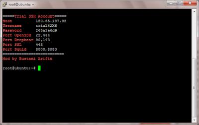 Script Auto Install SSH untuk VPS Ubuntu 18.10 64 bit
