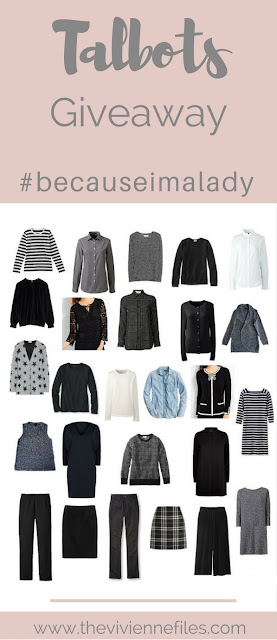 A Giveaway for You! #becauseimalady Promotion at Talbots...