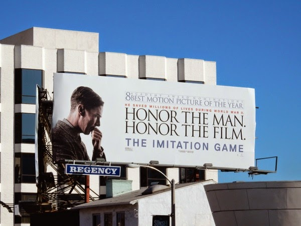Imitation Game Oscar billboard
