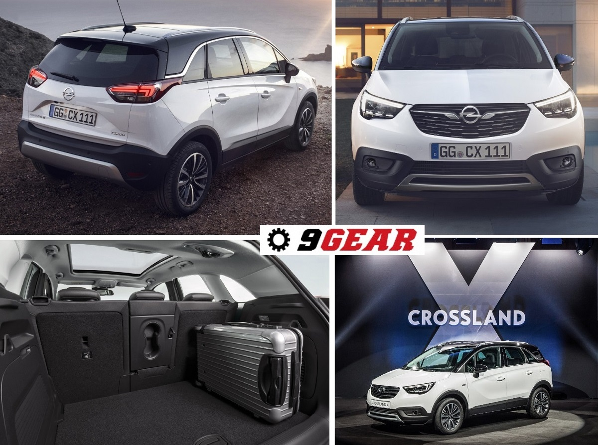 all new 2017 opel crossland x suv car reviews new car pictures for 2018 2019. Black Bedroom Furniture Sets. Home Design Ideas