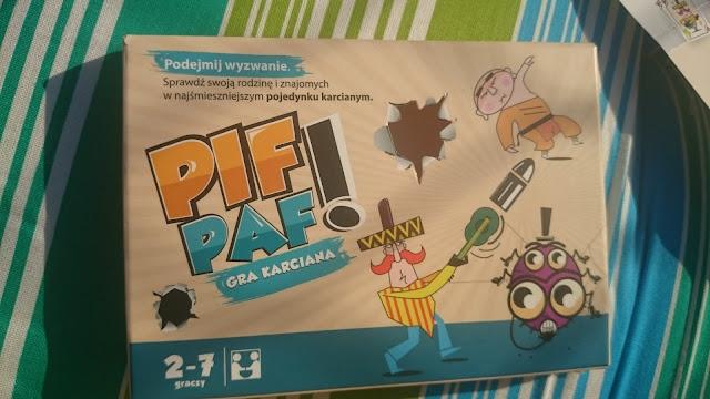 Gra karciana Pif Paf - Recenzja