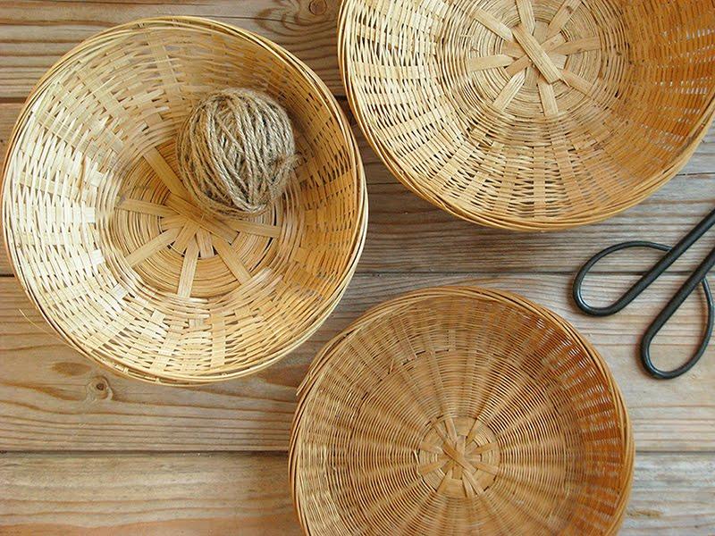 Projet de recyclage des mangeoires pour les oiseaux for Ou trouver des paniers en osier