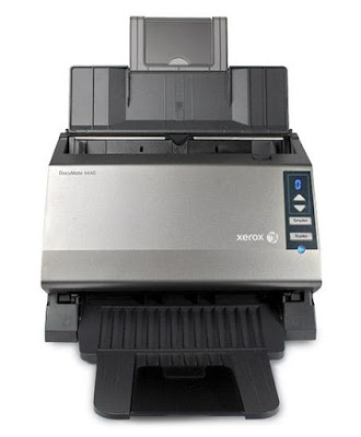 scanner is probable ane of the fastest as well as easiest to usage scanners inward its classification Xerox DocuMate 4440 Driver Download