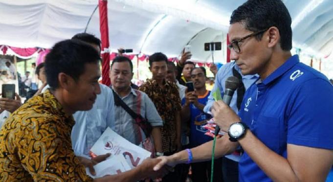 Dijegal untuk Menghadiri Kampanyenya, Warga Grobogan Minta Maaf pada Sandi