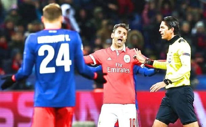 Benfica liga dos campeões