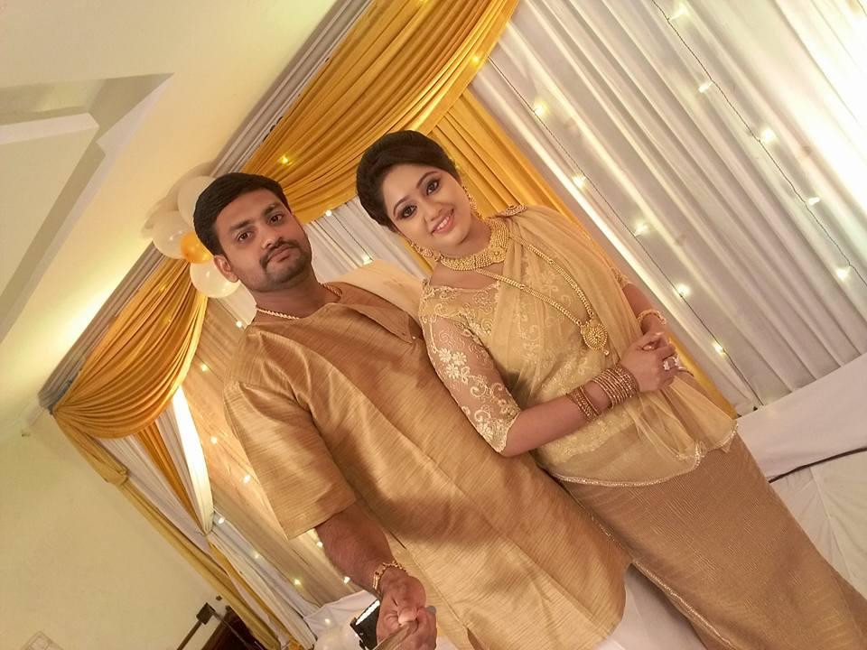 Serial Actress Meghna Vincent Wedding HD Photos