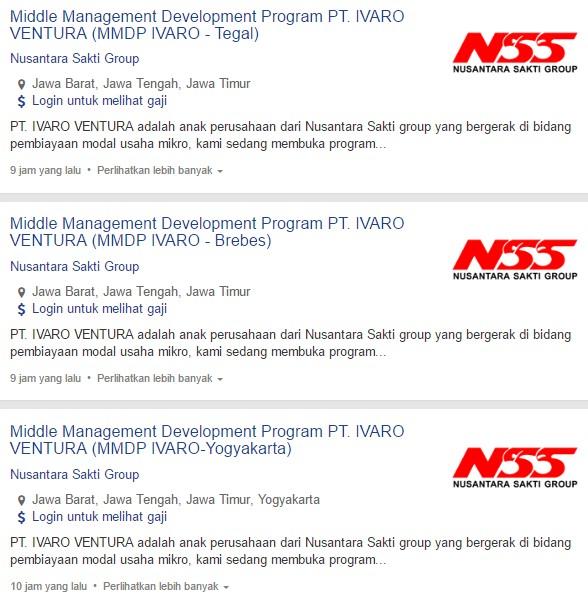 Info Loker 2020 Lowongan Kerja Pt Ivaro Ventura Terbaru 2020 Kerjasurabaya Com Info Lowongan Kerja Di Surabaya Terbaru 2020