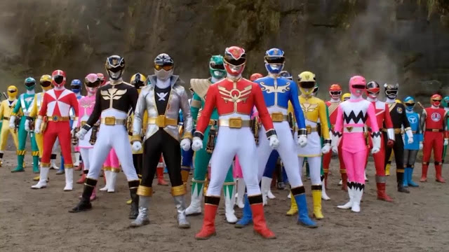 Netflix libera todas as temporadas dos Power Rangers