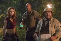 Jack Black, Dwayne Johnson and Karen Gillan in Jumanji: Welcome to the Jungle (3)