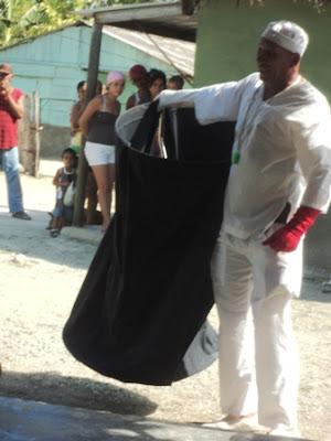 Eldis Cuba, actor de teatroa, Guantánamo