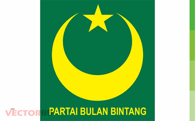 Logo PBB (Partai Bulan Bintang) - Download Vector File CDR (CorelDraw)