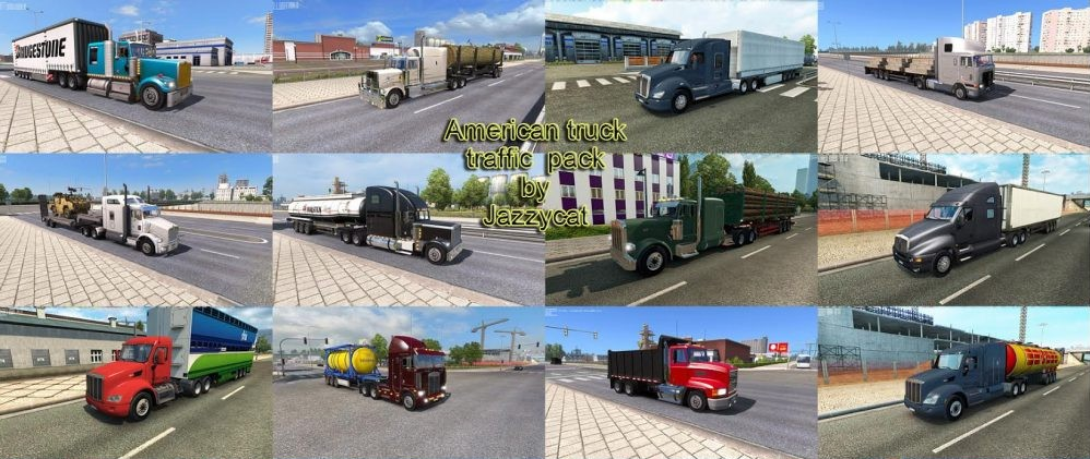 Jazzycat – American Truck Traffic Pack V 1.4.1