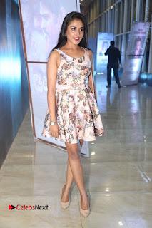 Actress Madhu Shalini Stills in Floral Short Dress at RGV Shiva to Vangaveeti Event  0147.JPG