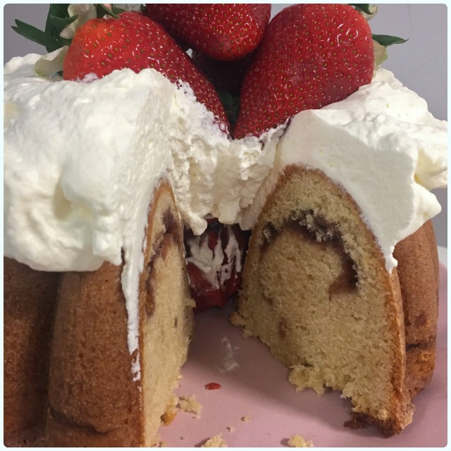 Cream Tea Bundt Cake