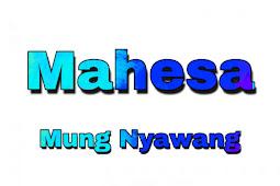 Kunci Gitar Mahesa Mung Nyawang