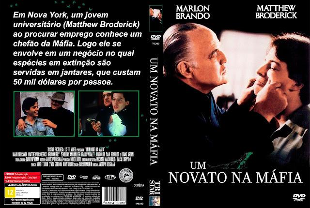 Capa DVD Um Novato Na Máfia [Exclusiva]