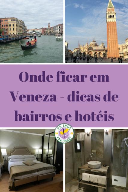 Onde ficar em Veneza?