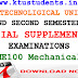 Question Paper for Basics of Mechanical Engineering ME100-Special Supplementary Examination Aug/Spt 2016