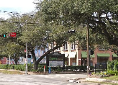 Sorrel Urban Bistro (archival photo of restaurant on corner of West Alabama St and Greenbriar)