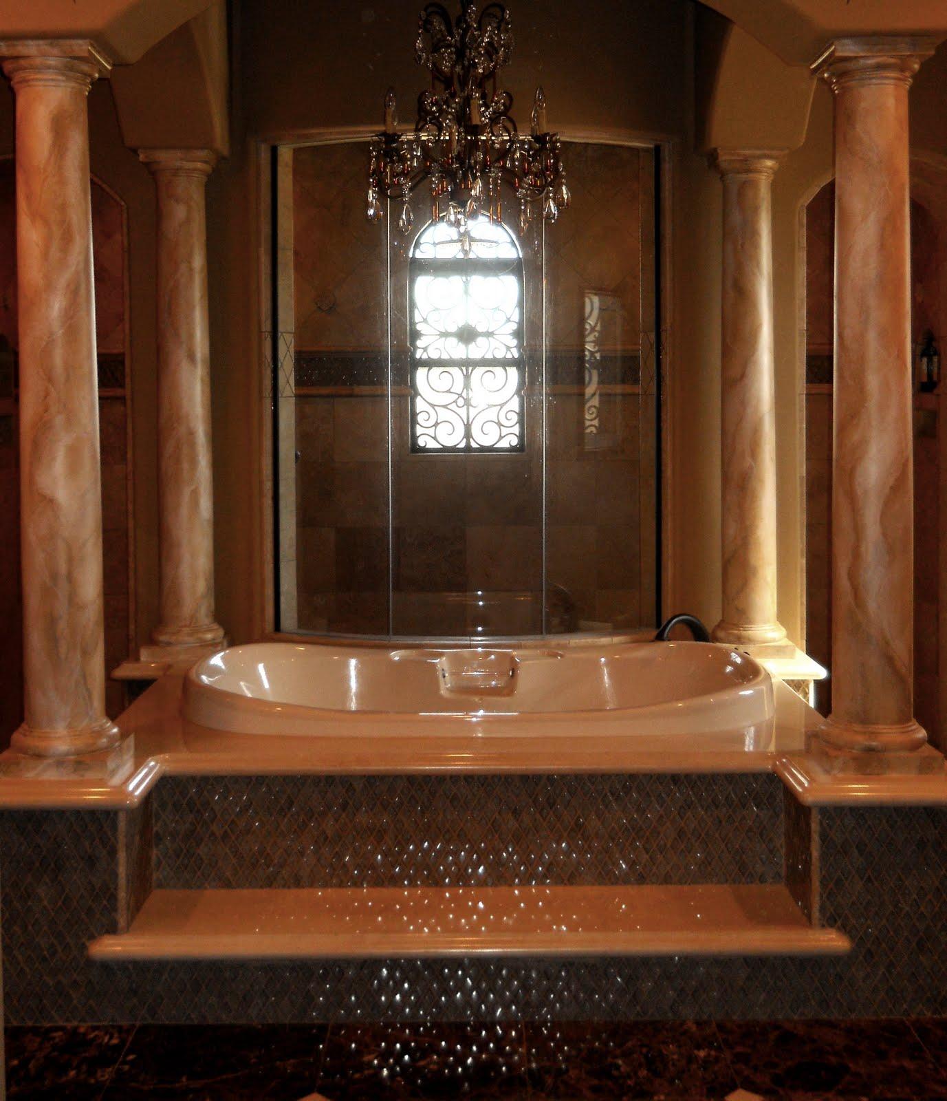 Master bathroom luxury