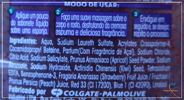Sabonete Líquido Palmolive Natureza Secreta Açaí Tropical