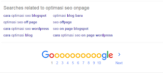 optimasi seo onpage