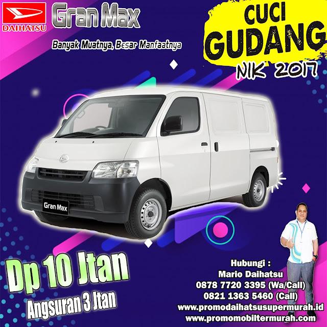 promo daihatsu gran max blind van