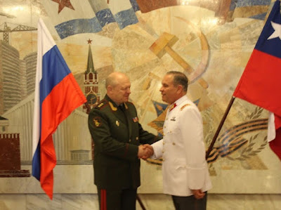 Ejército de Chile explora realizar intercambio profesional con ejército ruso