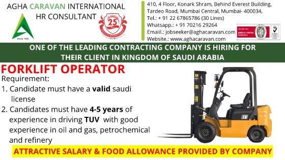 Contracting Company jobs for Saudi Arabia