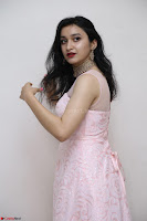Sakshi Kakkar in beautiful light pink gown at Idem Deyyam music launch ~ Celebrities Exclusive Galleries 037.JPG