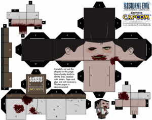 Cubeecraft Resident Evil - Zombie