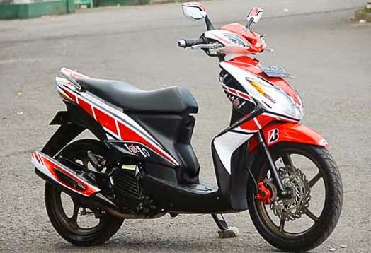 Modifikasi Yamaha Xeon RC 125