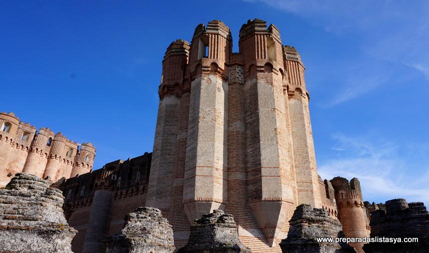 Torre Castillo de Coca, Segovia