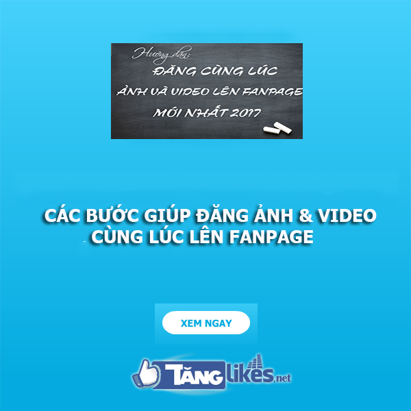 dang anh video va anh tren fanpage cung luc 1