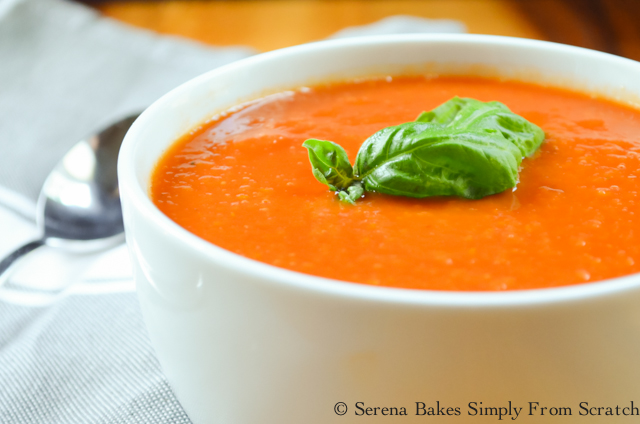 Easy to make Crockpot Tomato Soup