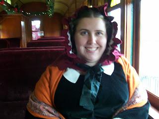 Northwest Railway Museum Victorian Santa Train