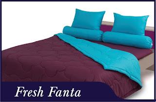 Sprei & Bedcover Shyra Polos - Fresh Fanta