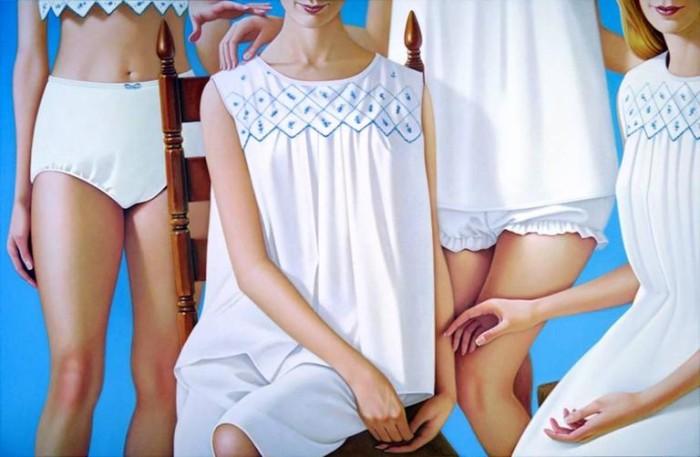 Одежда важнее чем лица. James Rieck