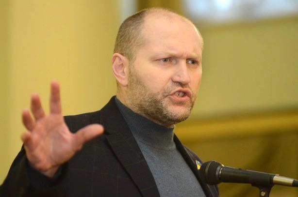 Після штурму Жовтневого палацу народний депутат Борислав Береза звинуватив Саакашвілі у вбивстві