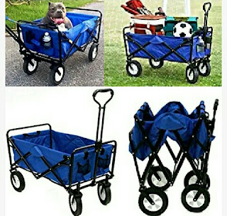 Foldable Utility Wagon - Carriage by Mac Sports