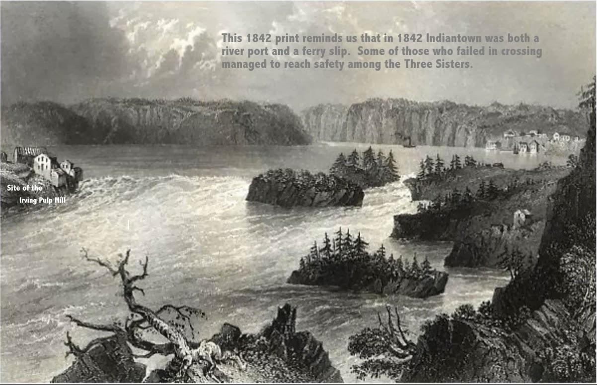 Reversing Falls Tragedies The Mass Drowning Of 1838 And Hermit Bad Boy Buggy Ambush Wiring Diagram Islands Between Indian Town Carleton New Brunswick 1842