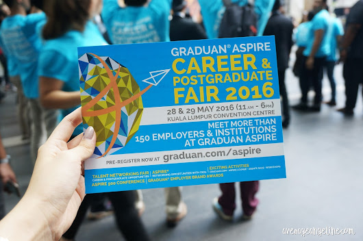 Let your career take-off at GRADUAN® ASPIRE 2016 Career & Postgraduate Fair 2016!