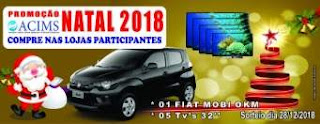 Promoção ACIMS Monte Santo Natal 2018 - Prêmios, Participar