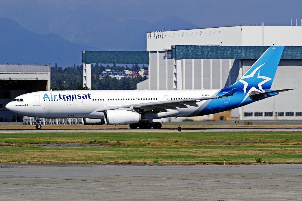 Air Transat London To Vancouver