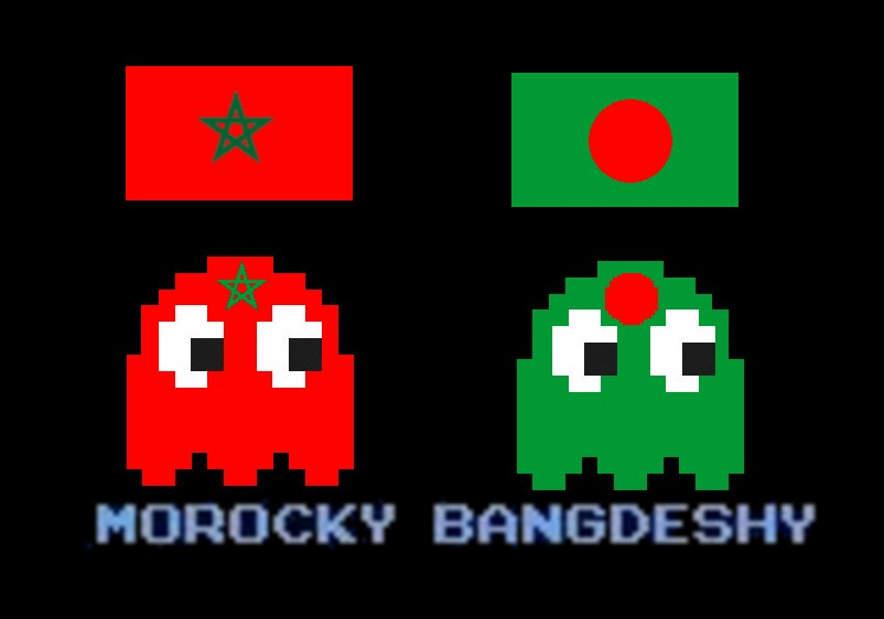the voice of vexillology flags heraldry pac man ghost for