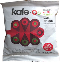 Inspiral sweet chilli and mint Kale Chips