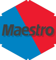 maestro hexagon icon